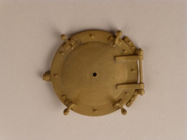 Rauchkammertür mit feststehenden Vorreibern,  Durchmesser 33mm