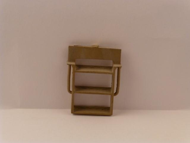 Aufstieg, 3-stufig mit Griffstangen, 26 x 25mm