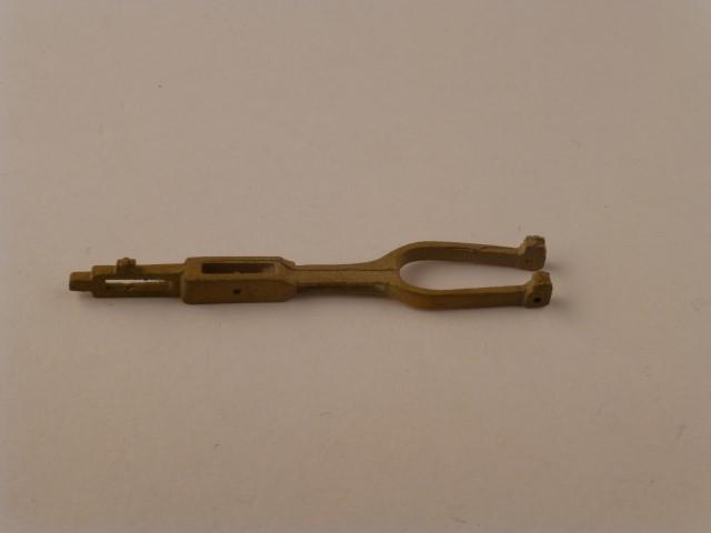 Schieberschubstang/Kuhnsche Schleife, rechts/links,  Stichmaß ca. 38,5mm