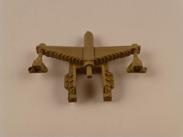 Blattfeder, Stichmaß 36mm, mit Gleitplatten und beidseitiger  Aufhängung für Achslager 1.0439
