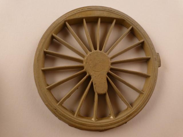 Kuppelrad, für 2000er Rad, 18 Speichen,  für Kurbelradius 11 +/- 0,5mm, passend zu 1.0549
