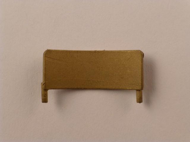 Kotflügel für Vor-/Nachlaufachse, Radius ca. 19mm,  24,5mm lang