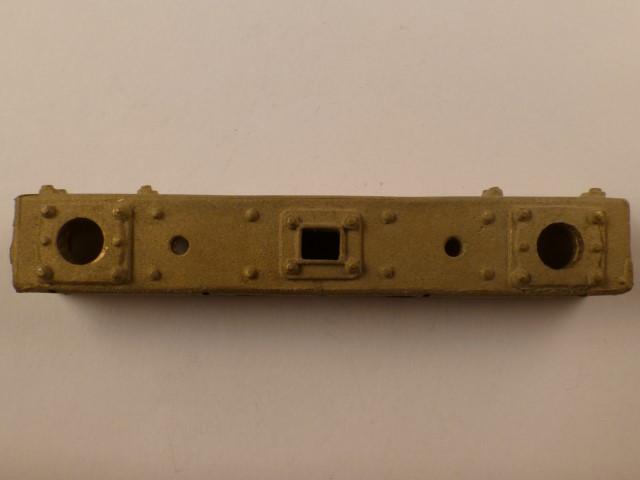Pufferbohle, U-förmig, mit Halterung für Laternen-Schutzbügel