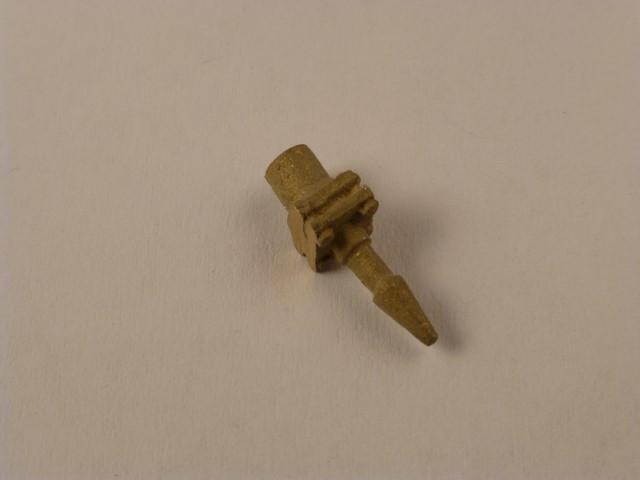 Heizleitungsflansch mit Schlauchanschluss  (Verbindung von Tender zu Lok)