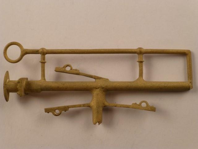 Vordere Tender-Griffstange für Tender BR 24