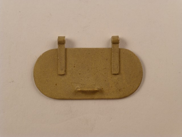 Wasserdeckel, ähnlich 1.0914 aber mit gebohrten Scharnieren