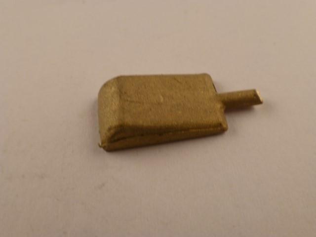 Abdeckung für Aufwerfhebel oder Schwinge, klein,  Montage auf Umlaufblech