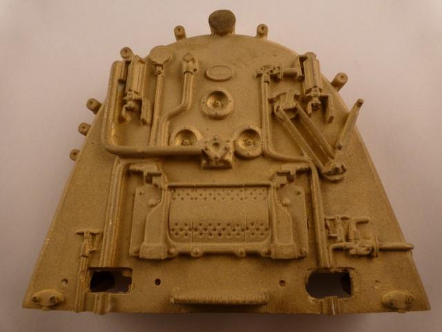 Stehkessel-Rückwand für Kessel-Durchmesser 62-64mm,  70mm hoch, unten 87mm breit