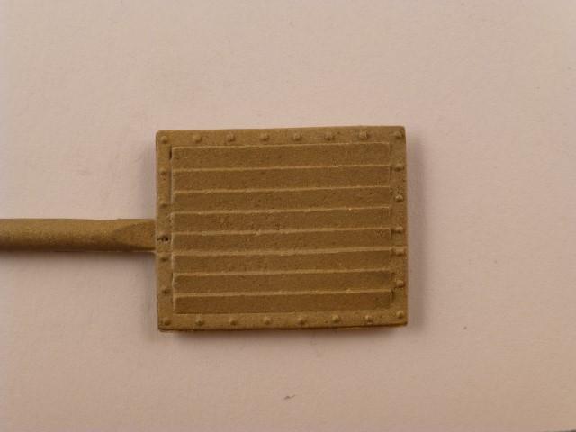 Kühlrippenblech, 18,5 x 22,5mm, mit genieteten Rahmen
