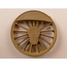 Treibrad, für 1750er Rad, 17 Speichen,  für Kurbelradius 10,5 +/- 0,5mm, passend zu 1.0545
