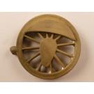 Kuppelrad, für 1216er bis 1250er Rad,  12 Speichen, für Kurbelradius 9 +/- 0,5mm,  wie 1.0557 aber Gegengewicht aufgedickt.